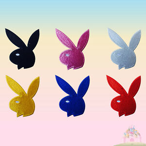 Playboy Embroidered Iron On /Sew On Patch Badge For Clothes Bags