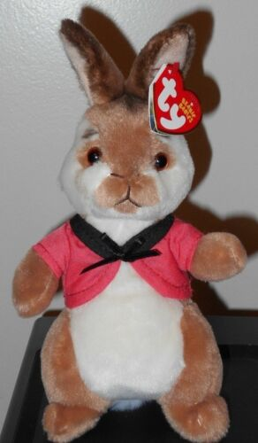 2018 Ty Beanie Babies ~ FLOPSY from the Peter Rabbit Movie 9 Tall NEW ~ IN HAND