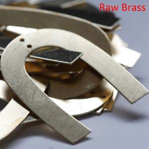 35x26.7mm CW-3871C-D-485 10 Pièces Raw Brass Horse Shoe-U-Pendentif