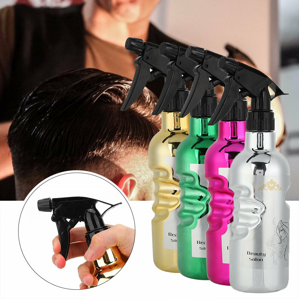 500ML Empty Water Spray Bottle Plants Watering Cleaning Garden Hairdressing Tool
