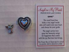 a Angel in my Heart Prayer box POCKET miniature CHARM love sympathy ganz memory