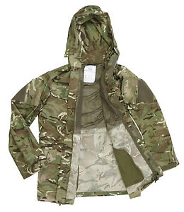 Smock-Combat-Windproof-MTP-parka-Armee-Anglaise-camo-type-Multicam-occasion