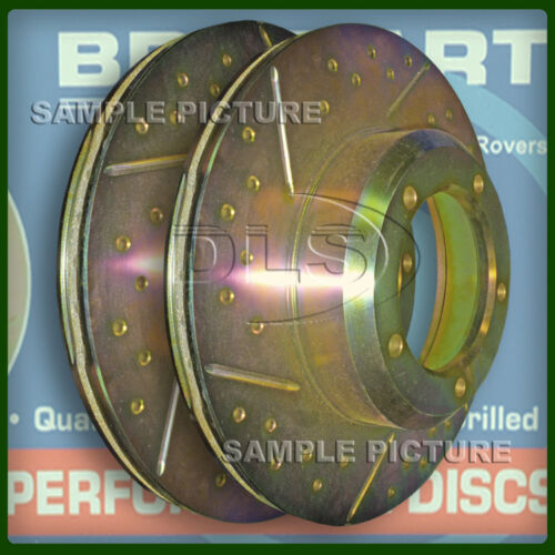 "RANGE ROVER /""SPORT/"" TDV6 DIESEL FRONT GROOVED PERFORMANCE BRAKE DISCS DA4612"