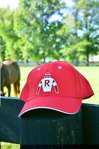 Ramsey-Farm-Ball-Cap-Horse-Racing-Memorabilia-Kitten-039-s-Joy-Hat-Silks