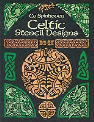 1 of 1 - Celtic Stencil Designs: Pictorial Archive by Co Spinhoven (Paperback, 1990)