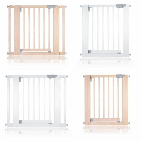 Safetots Chunky Wooden Pressure Fit Stair Gate 74 97cm Safety Baby