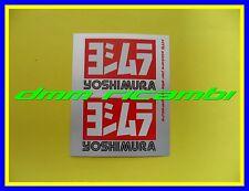 Adesivo YOSHIMURA per terminali scarico silenziatori termo resistente 2 adesivi