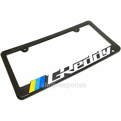 MORE COWBELL COW Metal License Plate Frame Tag Holder