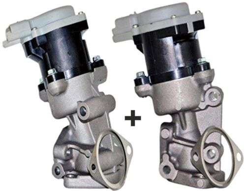 RIGHT+LEFT EGR Valve JAGUAR XF 2.7 D 2005-2009 2005-2015 XJ