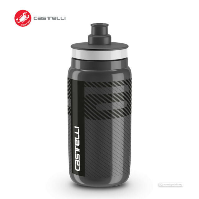 FDA Approved Portable Gray Collapsible Silicone Water Bottle-550 ML//18.6 OZ