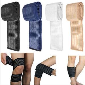 1pc-Sport-Handgelenk-Fussknoechel-Knie-Hueftgelenk-Elastische-Bandage-Verband