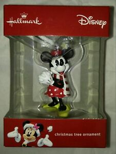 Disney-MINNIE-MOUSE-Christmas-ornament-hallmark-collectible