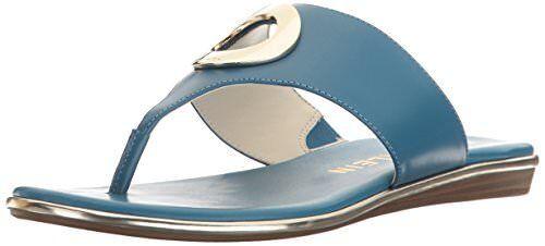 Anne Klein Damenschuhe Gia Leder Flip-Flop- Select SZ/Farbe.