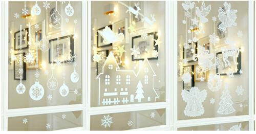 Heitmann Deco Weihnachten Fensterbilder Fensterdeko Selbstklebend Sterne Engel