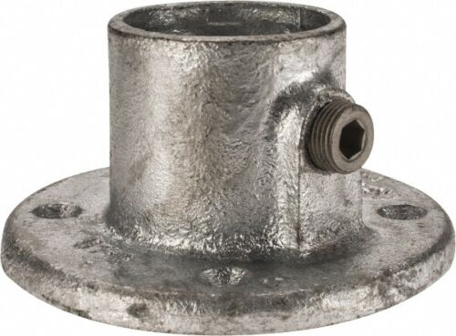 Kee 1-1//2 Inch Pipe Malleable Iron Pipe Rail Fitting Galvaniz... Medium Flange