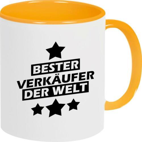 Kaffeepott Bester Verkäufer der Welt Tasse Pott Kaffeetasse Teetass
