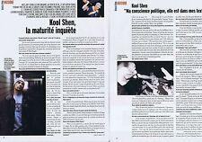 Coupure de presse Clipping 2004 Kool Shen (2 pages) groupe N.T.M