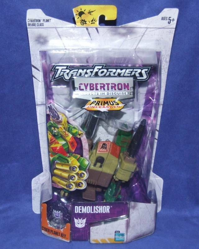 Transformers Cybertron DEMOLISHOR RID New Factory Sealed 2006