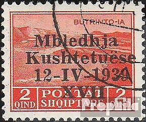 Europe Stamps Intellective Albania 285 Usado 1939 Verfassungsgebende Asamblea Making Things Convenient For The People