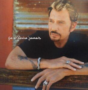 JOHNNY-HALLYDAY-CA-N-039-FINIRA-JAMAIS-RARE-PROMO-CD-SINGLE