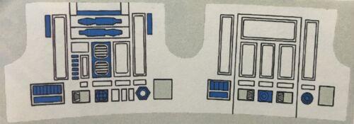 VINTAGE Star Wars-adesivo di ricambio per R2-D2