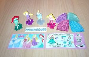 KOMPLETTSATZ-DISNEY-PRINCESS-FS305-FS308-4-BPZ-AUS-CHINA-FERRERO-2017