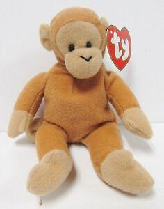 e9293991507 Image is loading Ty-Teenie-Beanie-Baby-034-Bongo-the-Monkey-