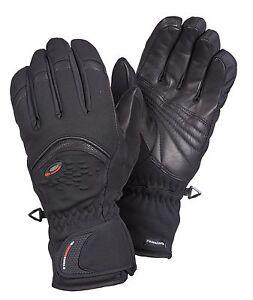ziener damen ski handschuhe softshell gore windstopper koro schwarz 1212 neu ebay. Black Bedroom Furniture Sets. Home Design Ideas