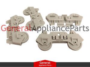 2019 DernièRe Conception Whirlpool Kenmore Sears Roper 4 Dishwasher Rack Wheels Ea358588 Ps358588 3369509 Aussi Efficacement Qu'Une FéE