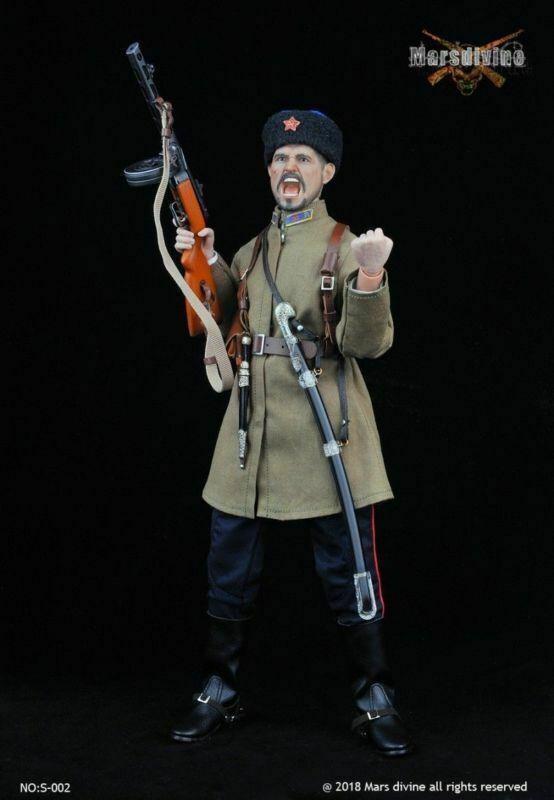 Marsdivine S-003 1 6 Figure Uniform Set 12'' WWII Soviet Soldier Costume