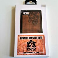 Sonix Pono Woodworks Hawaiian Koa Wood Flowers Etched Apple Iphone 6 6s Case