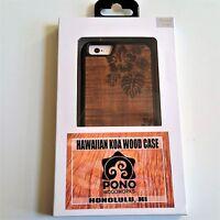 Sonix Pono Woodworks Hawaiian Koa Wood Flowers Etched Apple Iphone 6 6s Case