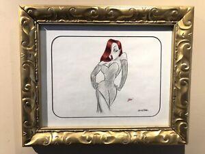 Disney-Animation-Amblin-Who-Framed-ROGER-RABBIT-Framed-Pencil