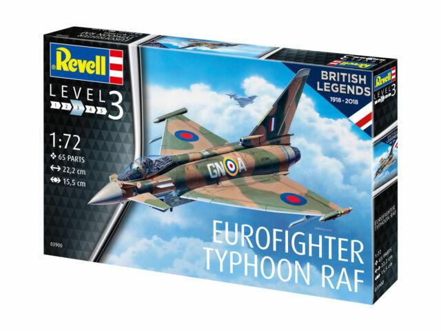 Eurofighter Typhoon Raf Neu Revell 03900-1//72 British Legends