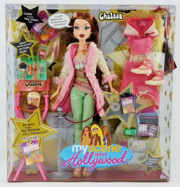 Barbie My Scene Goes Hollywood Chelsea Doll 2005 Mattel No. G6131 NRFB