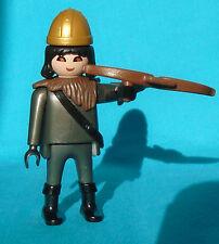 Playmobil k5888 Wolf Knight, dark gray minifig with crossbow