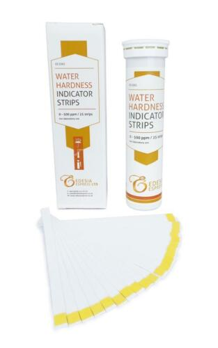 Drinking Water Softener Setup Total Water Hardness Test Strips Kit x 25