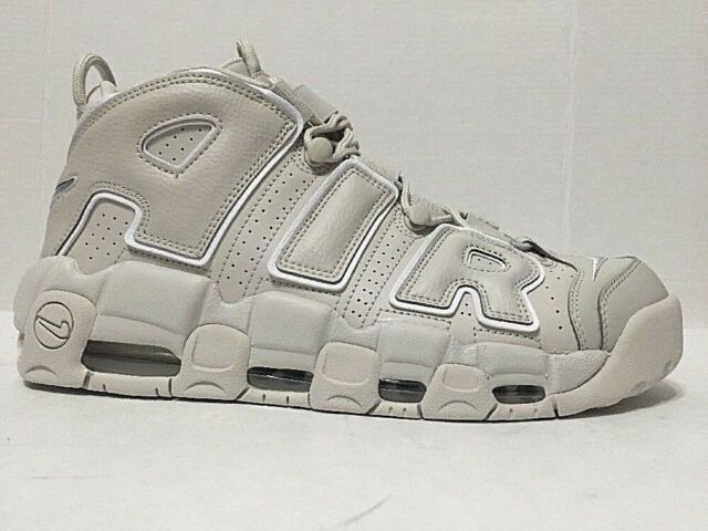 Nike Aix More Uptempo 96 Sneakers Light Bone Beige 921948 001 Mens Size 10