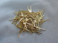 200 Arrow Connector Pins 33 Mm Brass Chandelier Parts Lamp Crystal Prism Bead