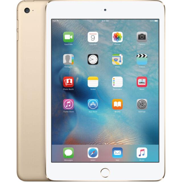 """NUEVO Apple iPad Mini 4 128GB 7.9"""" Wifi Tableta - Dorado (con Garantía de Apple)"""
