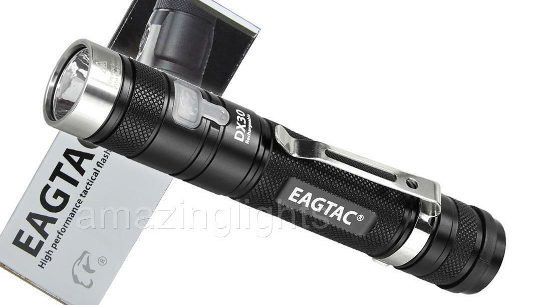Eagletac DX30LC2-R Rechargeable CREE XP-L HI Tactical LED Flashlight- 1160 Lumen