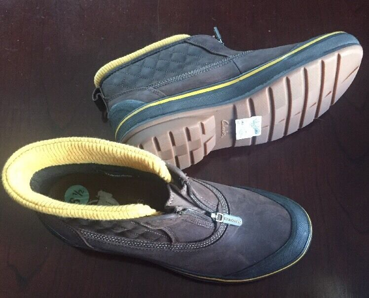 New CLARKS 3M Thinsulate   81 2  Waterproof Boots ,