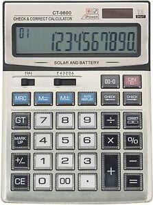 Ct 9800 Check Correct Desktop Calculator Uk Seller Fast Free Dispatch Ebay