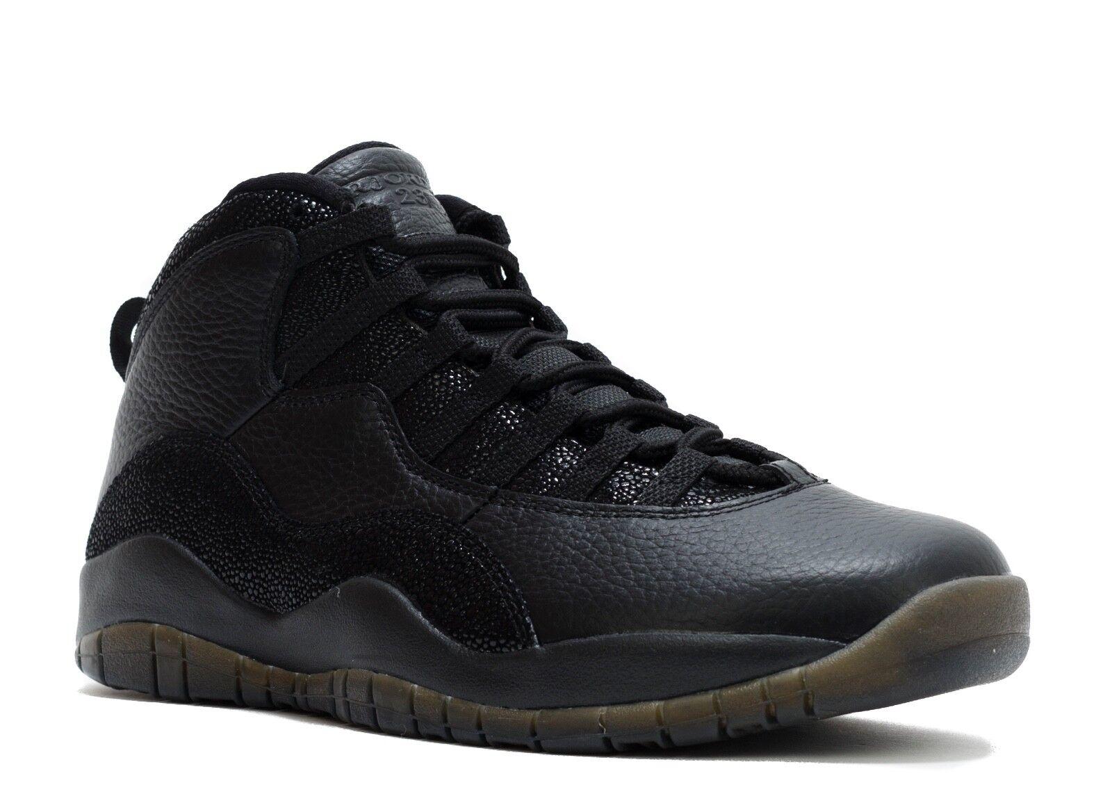 Nike Retail Air Jordan Retro 10 x ovo Negro Retail Nike casual salvaje 3307e6