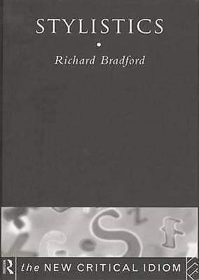 Stylistics by Richard Bradford (Paperback, 1997)