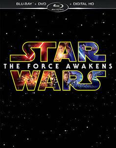 Star Wars: The Force Awakens Blu-ray/DVD/Digital HD Region A/1