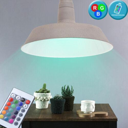 RGB LED Decken Hänge Leuchte dimmbar Ess Zimmer Pendel Beleuchtung Fernbedienung