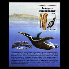 Peru 2013 - Prehistoric Animals Birds Fauna - Sc 1820 M