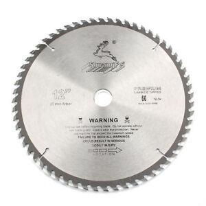 250 mm Carbide Tipped Lame de scie circulaire pour coupe de bois 60 dents bois