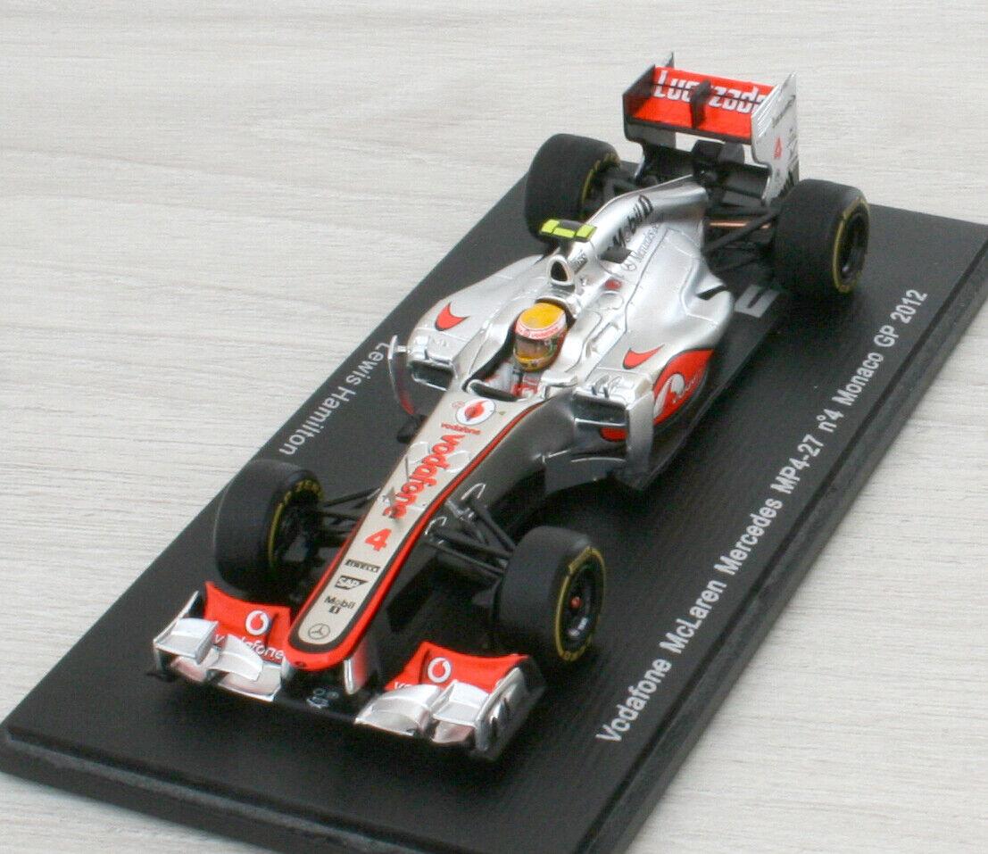 Mc LAREN Mercedes MP4-27 F1 -  4 GP Monaco 2012 - Hamilton - SPARK S3045 - 1 43